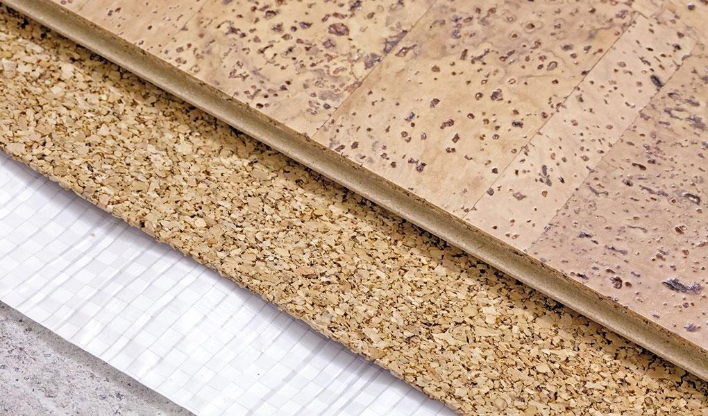 Clarkston Cork Flooring Installation